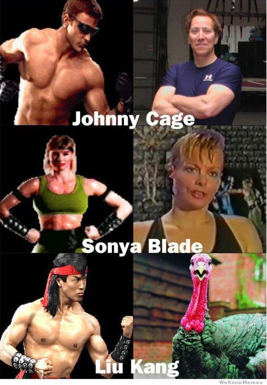 Voice Actors For Mortal Kombat | WeKnowMemes