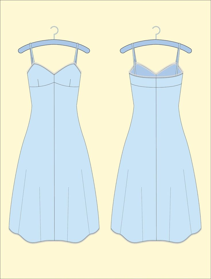 Free Pattern Download in Association with Sew Magazine | House of Jo.  I need to own slips.  I love wearing dresses, but I need to add class