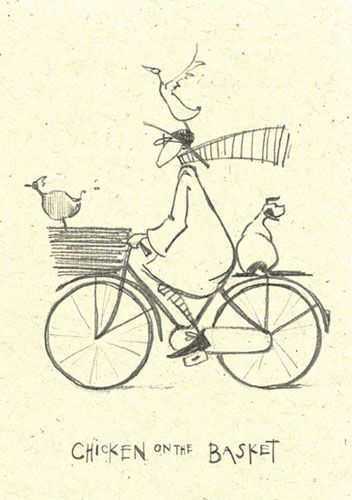 'Chicken on the basket' by Sam Toft (st34)
