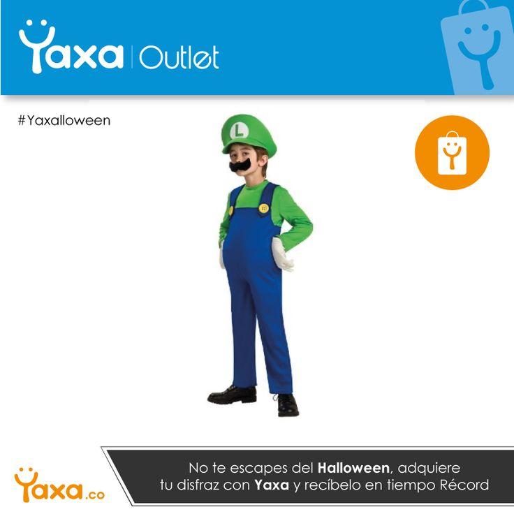 Conviértete en el #Monstruo más aterrador este #Halloween con #Yaxa y sus disfraces de #Remate #Oferta #Outlet #Yaxalloween #YaxaOutlet