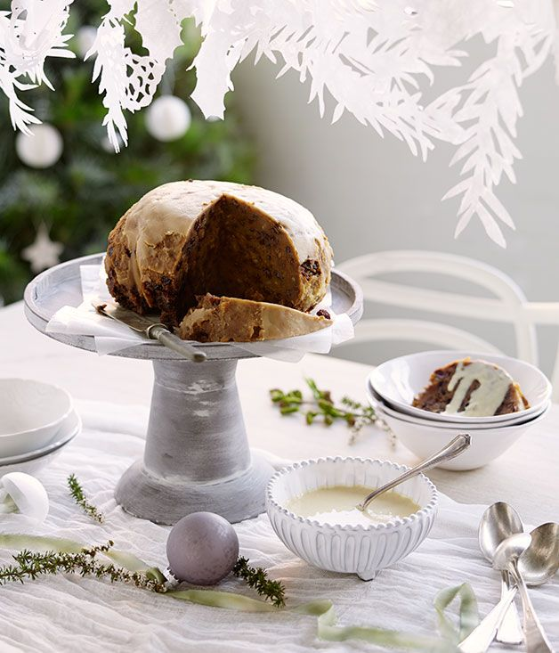 Australian Gourmet Traveller recipe for Ronda's Christmas pudding by Jeremy Strode.