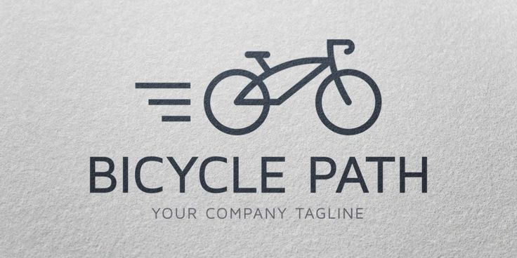 Bicycle Path - Logo Template, only 24$ + VAT