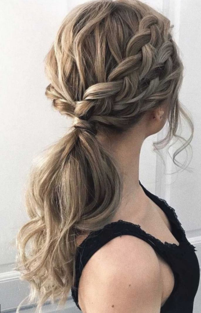 17 Hairstyles Prom Ponytail Updo Pony Hairstyles Simple Prom Hair Dance Hairstyles