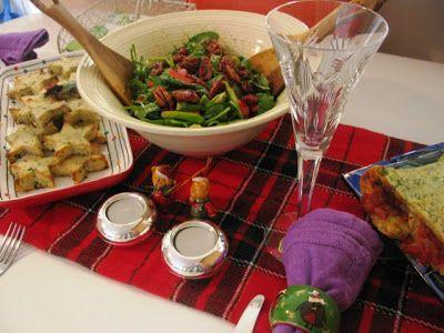 Green Gourmet Giraffe: Christmas dinner for two