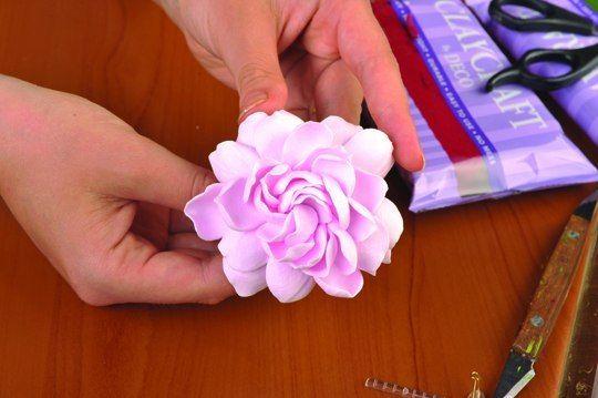 """Мастер-класс: цветы из полимерной глины """"Deco"""""""
