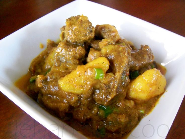 how to make curry goat guyanese style