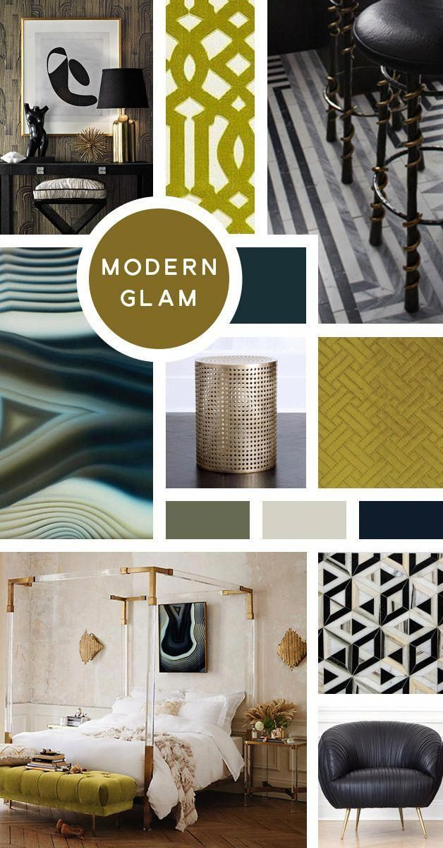 Your Ultimate Guide To Interior Design Styles Modern Glam Now