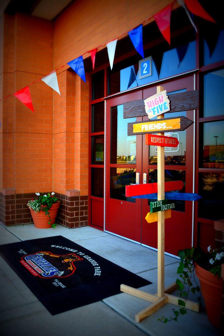 Main Entrance of school. #GrandePark #boosterthon # ...
