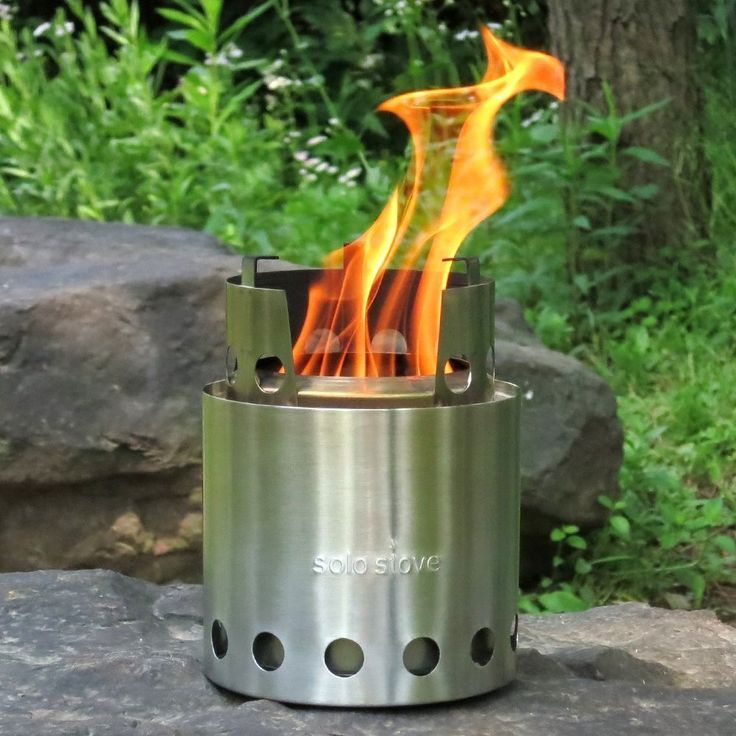 New Solo Stove Lightweight Stainless Steel Survival Camp Stove