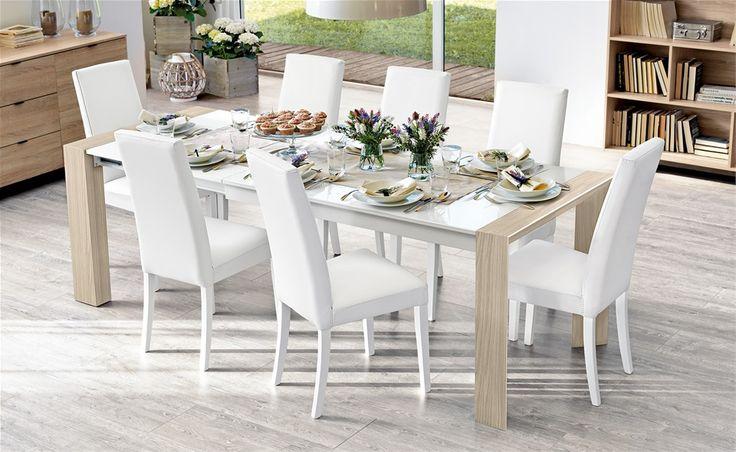 Tavolo e sedia Wood - Mondo Convenienza | Soggiorno | Pinterest
