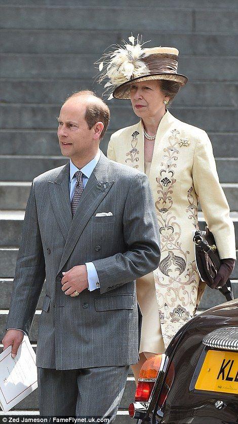 Royal Ascot, June 16, 2016. Prince Edward and Princess Anne
