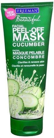 Freeman Feeling Beautiful Facial Peel-Off Mask Cucumber -- Best peel-off mask ever.
