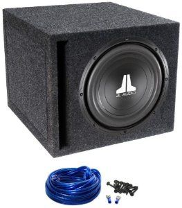 """Package: JL Audio 10W0V3-4 10"""" 600 Watt 4 Ohm Car Stereo Subwoofer with DMA Optimized Motor System + Atrend Single 10"""" Mdf Vented Subwoofer Enclosure + Sub Box Wire Kit With 14 Gauge Speaker Wire + Screws + Spade Terminals by JL Audio. $139.95. Package: JL Audio 10W0V3-4 10"""" 600 Watt 4 Ohm Car Stereo Subwoofer with DMA Optimized Motor System + Atrend Single 10"""" Mdf Vented Subwoofer Enclosure + Sub Box Wire Kit With 14 Gauge Speaker Wire + Screws + Spade Terminals     * JL Audi..."""