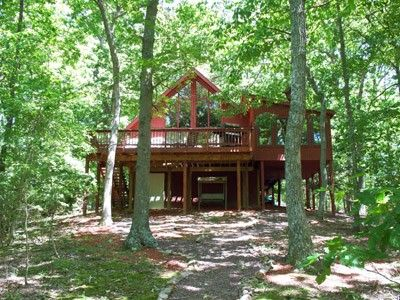 A Luxury Cabin Rental Near Berkeley Springs, West Virginia. This Vacation Cabin  Rental Is Close To Berkeley Springu0027s Spa And West Virgina Resorts.