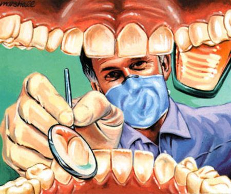Cartoon Dentist Wow .. its amazing what you can find while searching out images for porcelain veneers and more