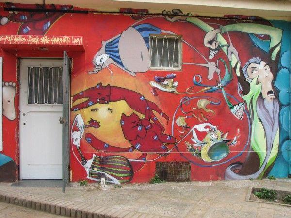 Graffiti casa de Valparaíso
