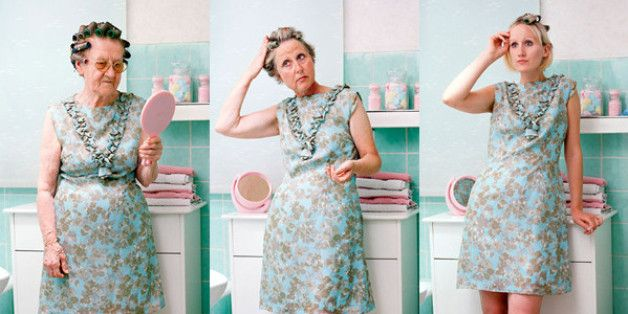 Three Generations Of Women Don The Same Outfit In A Perfect Portrait Of Womanhood