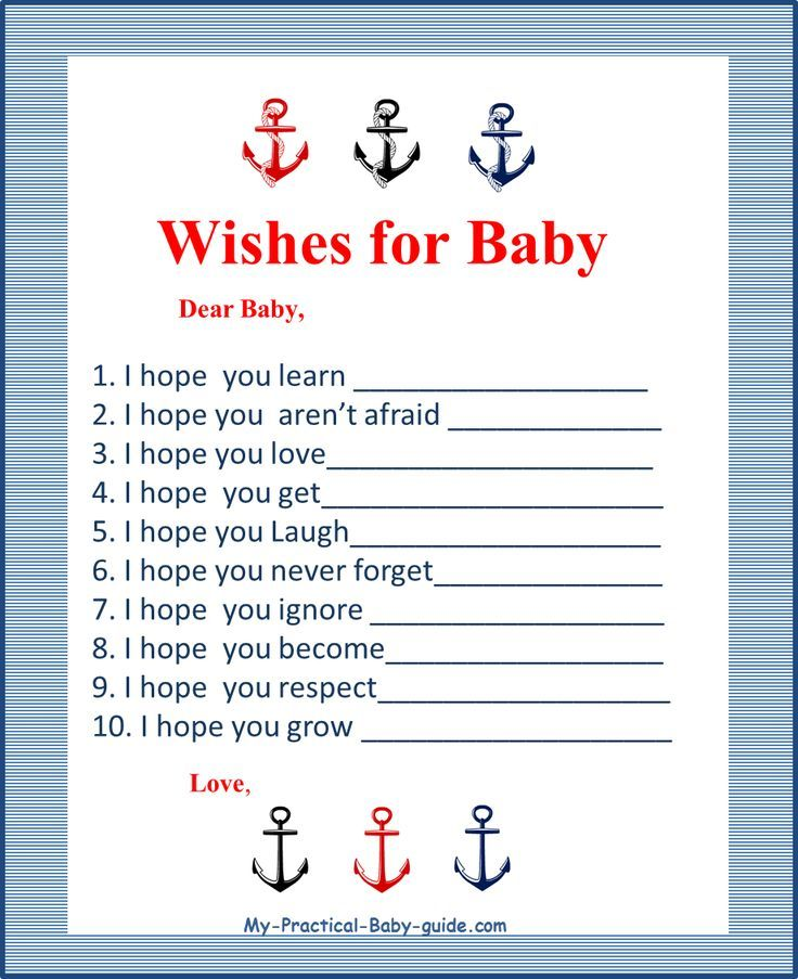 749 best Printable Baby Shower Games + Ideas images on Pinterest - free printable baby shower guest list