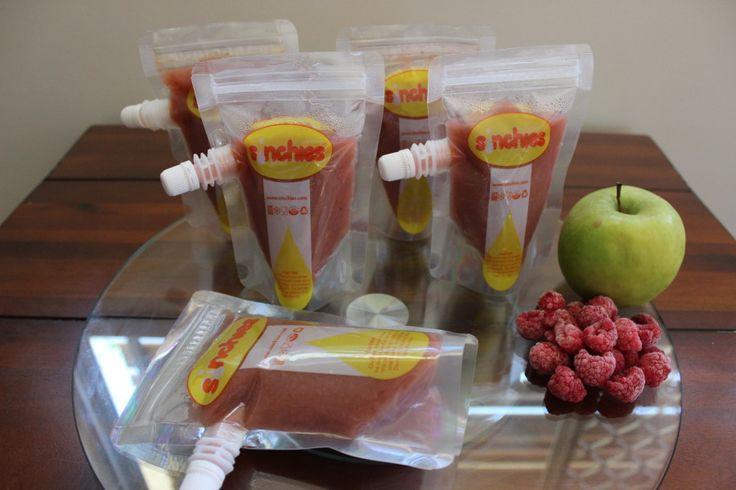Apple, raspberry and banana puree Sistermixin' Thermomix