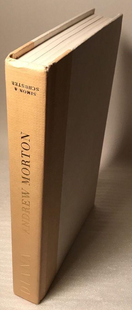 Diana's Diary by Andrew Morton Simon Schuster 1990 Hardcover Book No Dusk Jacket 671728830 | eBay
