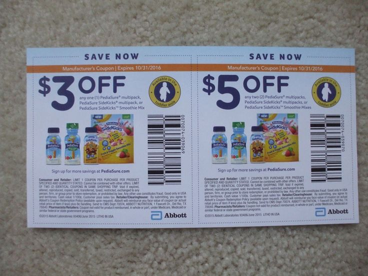 It's just a picture of Eloquent Pediasure Printable Coupon