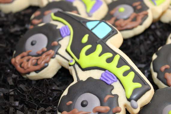Hey, I found this really awesome Etsy listing at https://www.etsy.com/listing/217762540/monster-truck-cookies-monster-truck