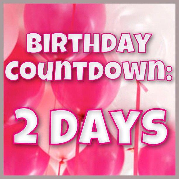 Birthday countdown 2 days left yohannah birthday countdown app birthday countdown - Birthday countdown wallpaper ...
