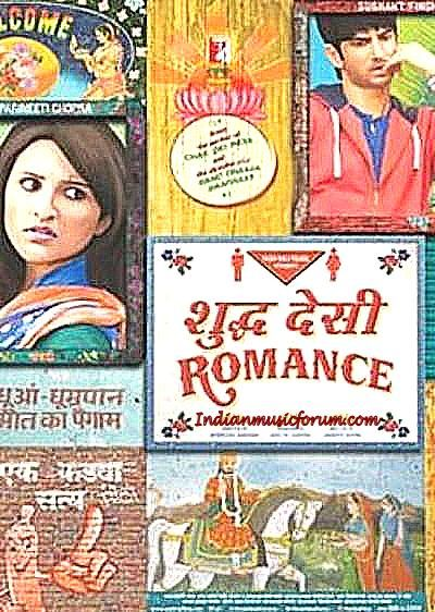 Shuddh Desi Romance (2013) - Hindi Mp3 Songs Download http://www.indianmusicforum.com/2013/09/shuddh-desi-romance.html