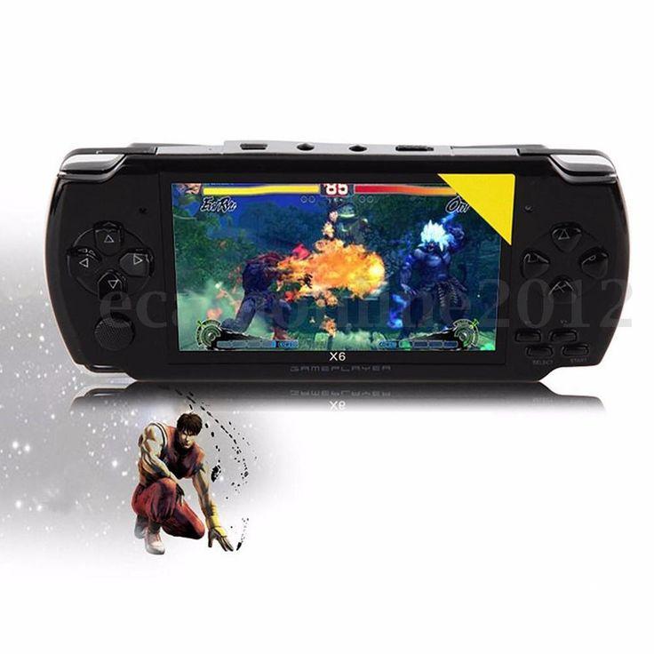 "3Color 4.3"" Screen 8G 32 Bit Portable Handheld Game Console 10000 Games Built-in #UnbrandedGeneric"