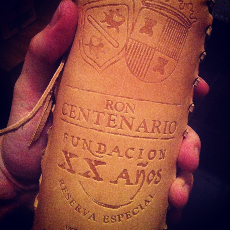 Ron Centenario XX leather rulezz :)