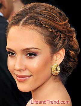 jessica alba prom hair | Hairstyles For Prom 2013 & Prom Haircuts