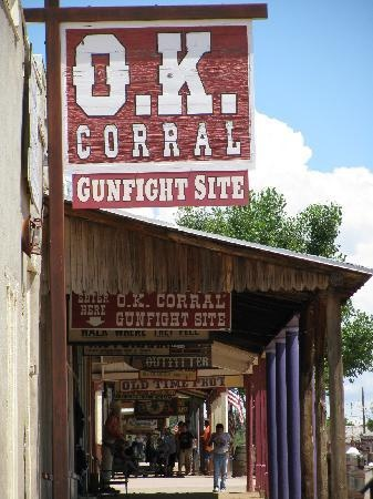 O.K. Corral...best place ever for a sarsaparilla! Tombstone, Arizona