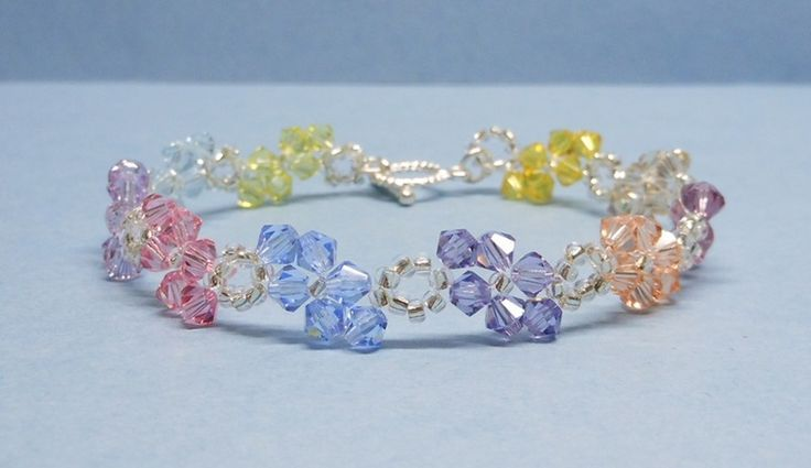 Kristall+Swarovski+Armband+von+akcrystalbead+auf+DaWanda.com