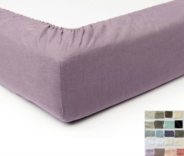 Linen Box Spring Cover Bed Skirt Alternative Pick Your Color
