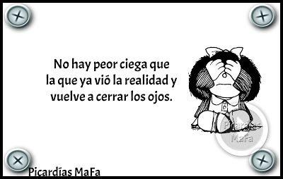Mundo de Postales: NO HAY PEOR CIEGA...