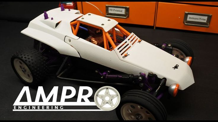 """e73:  Tamiya Hornet """"SuperFly II"""" Build Part 5 - Cage and Body Installation"""