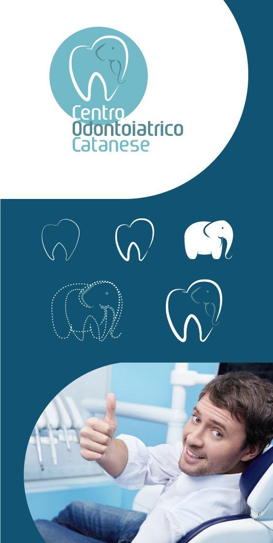 Logo Aziendale e Immagine Coordinata per Centro Odontoiatrico Catanese #Comunicazione