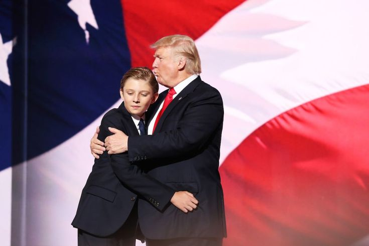 Barron Trump, son he could be your best or he could be your worst...watch him and that one son in law of yours