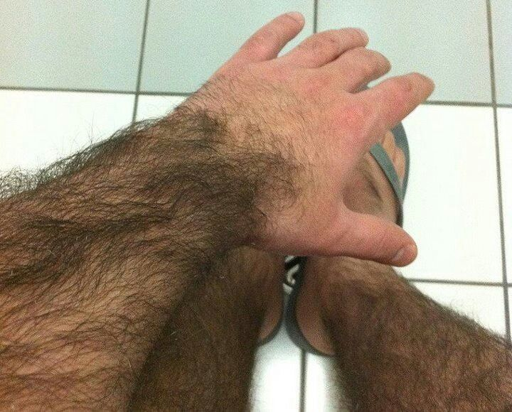 Hairy Arms Man 8