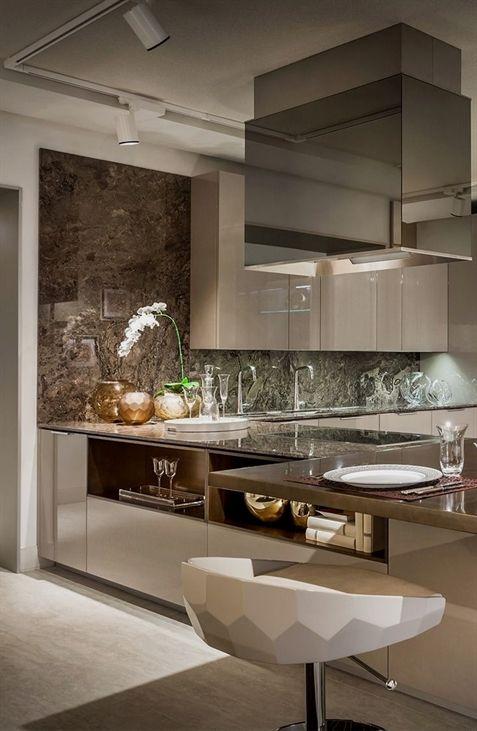 FendiCasa Ambiente Cucina views from #LuxuryLiving new showroom in