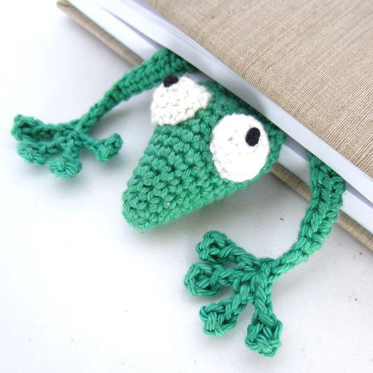 Amigurumi Gecko Lesezeichen Beitragsbild