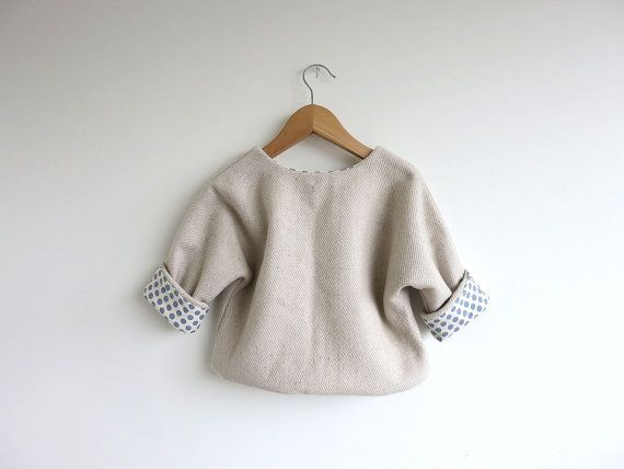 wool blend jacket dove by swallowsreturn on Etsy