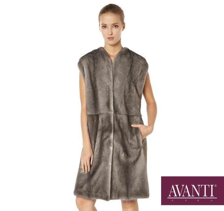 AVANTI FURS - MODEL: CELINA MINK VEST with Leather details #avantifurs #fur #fashion #mink #luxury #musthave #мех #шуба #стиль #норка #зима #красота #мода #topfurexperts