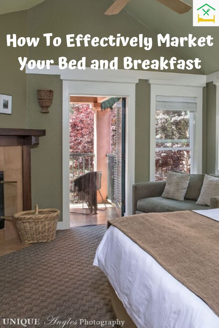 How To Effectively Market Your Bed and Breakfast in 2020
