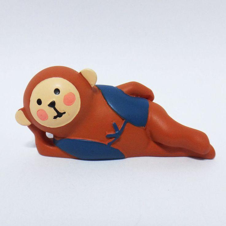 Concombre DECOLE Japan Cute Lovely Kawaii Figure Lying monkey #ConcombrebyDECOLE
