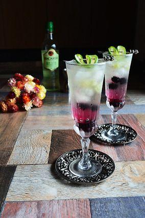 ガーデンフェアリー ライム&ベリーのワインモヒート 自宅で簡単お洒落 混ぜるだけ バカルディカクテル レシピブログ