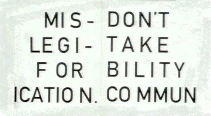 david carson don mistake legibility for communication - Поиск в Google