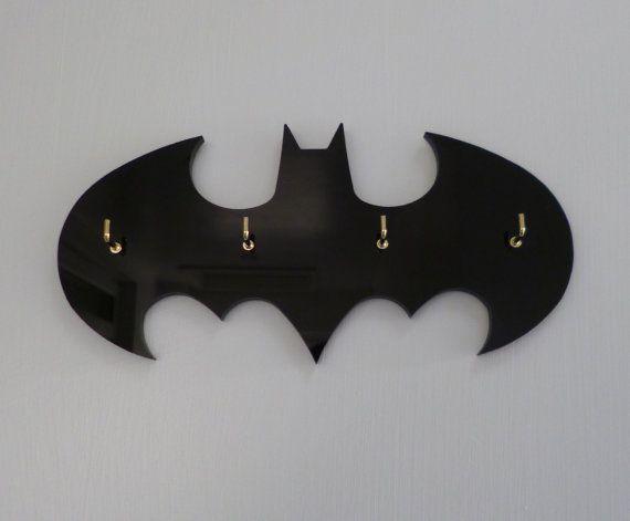 Para llaves de Batman retro / organizador de joyería