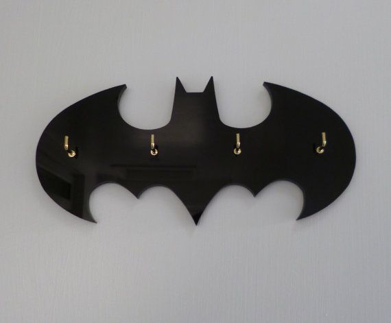 Classic Batman Key Rack / Jewellery Organiser
