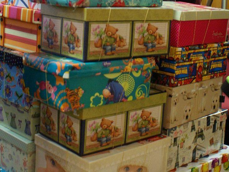 Cajas de la Operación Niño de la Navidad 2015